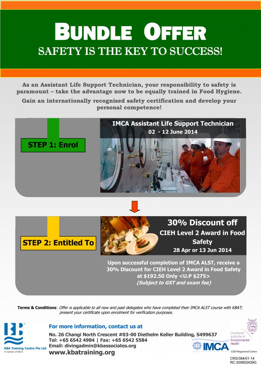 Bundle Offer - ALST+CIEH flyer