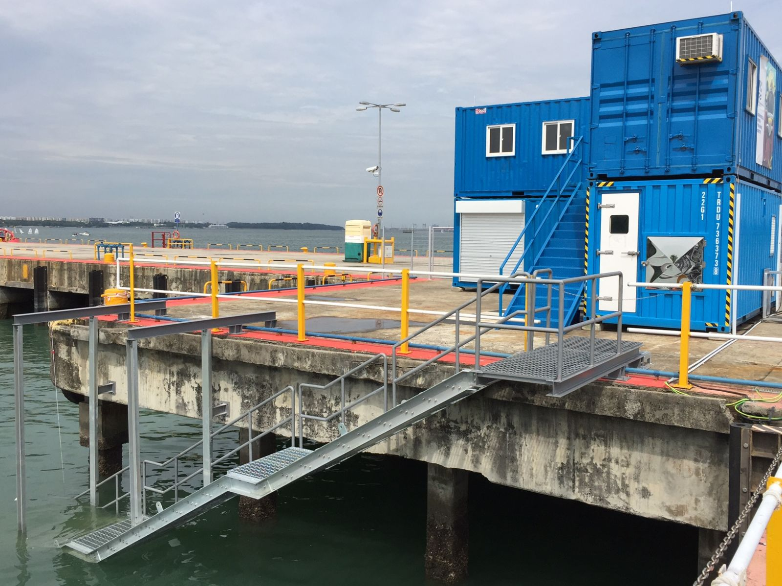 Relocation of Commercial Diver Training Centre to TOLL Offshore Supply Base