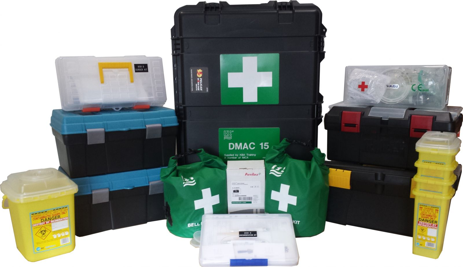 Gearing Up Your DMAC 15 Medical Kits from The Original Source