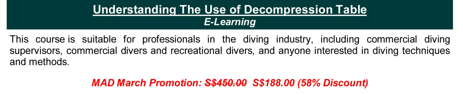 http://www.kbatraining.org/courses/Commercial-Diving/Competency-Development/Understanding-The-Use-of-Decompression-Table