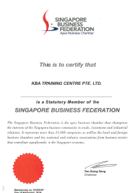 Singapore Business Federation Membership