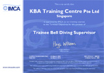 IMCA Trainee Bell Diving Supervisor Certification