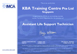 IMCA Assistant Life Support Technician Certification