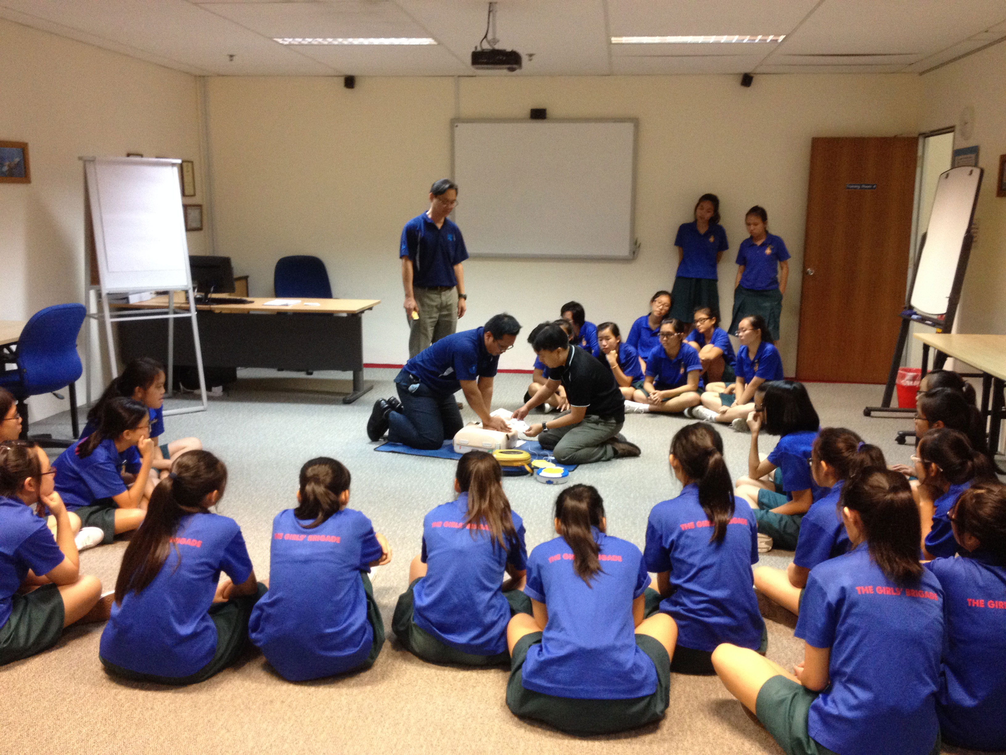 First Aid Course, Singapore, Jan 2014