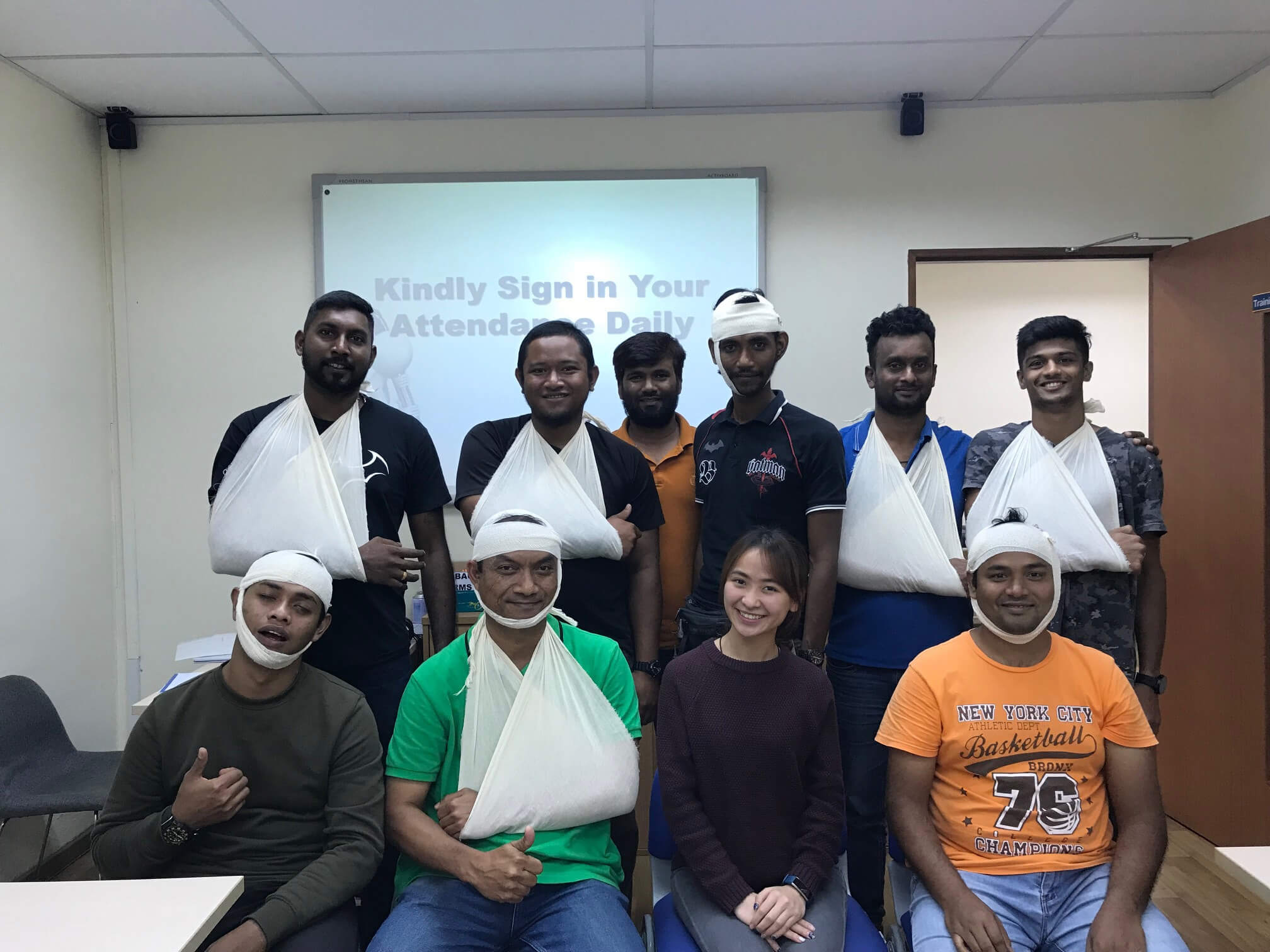 ISO 29990 Occupational First Aid (Singapore) 16-18 Apr 2018