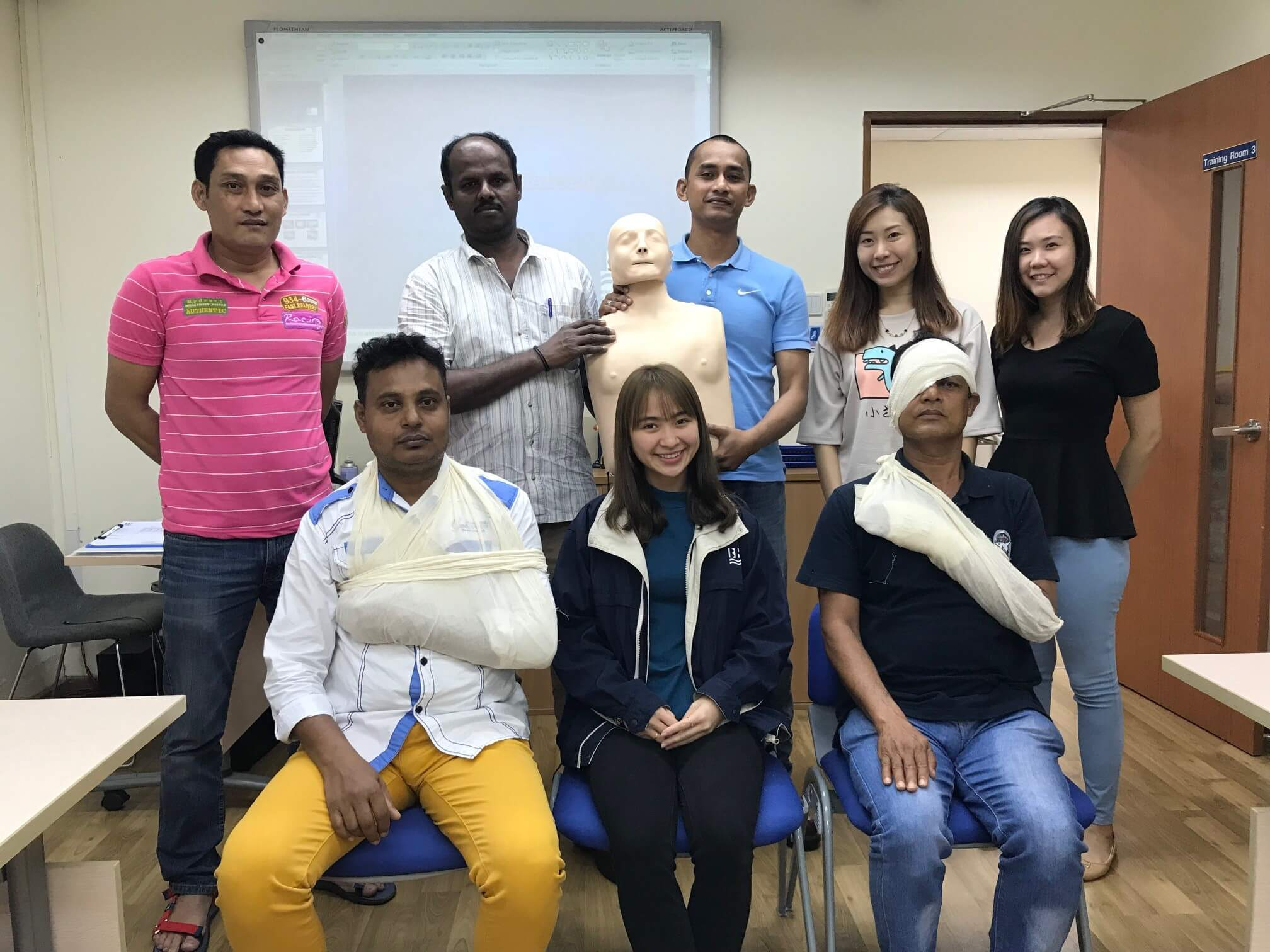 ISO 29990 Occupational First Aid (Singapore) 19-21 Jun 2018