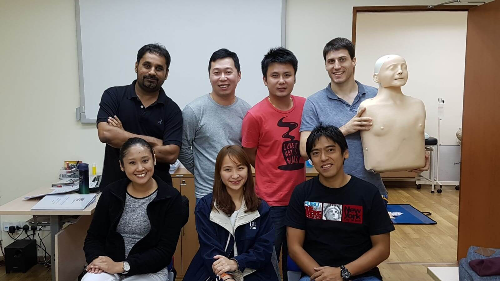ISO 29990 Occupational First Aid (Singapore) 30 May - 01 Jun 2018