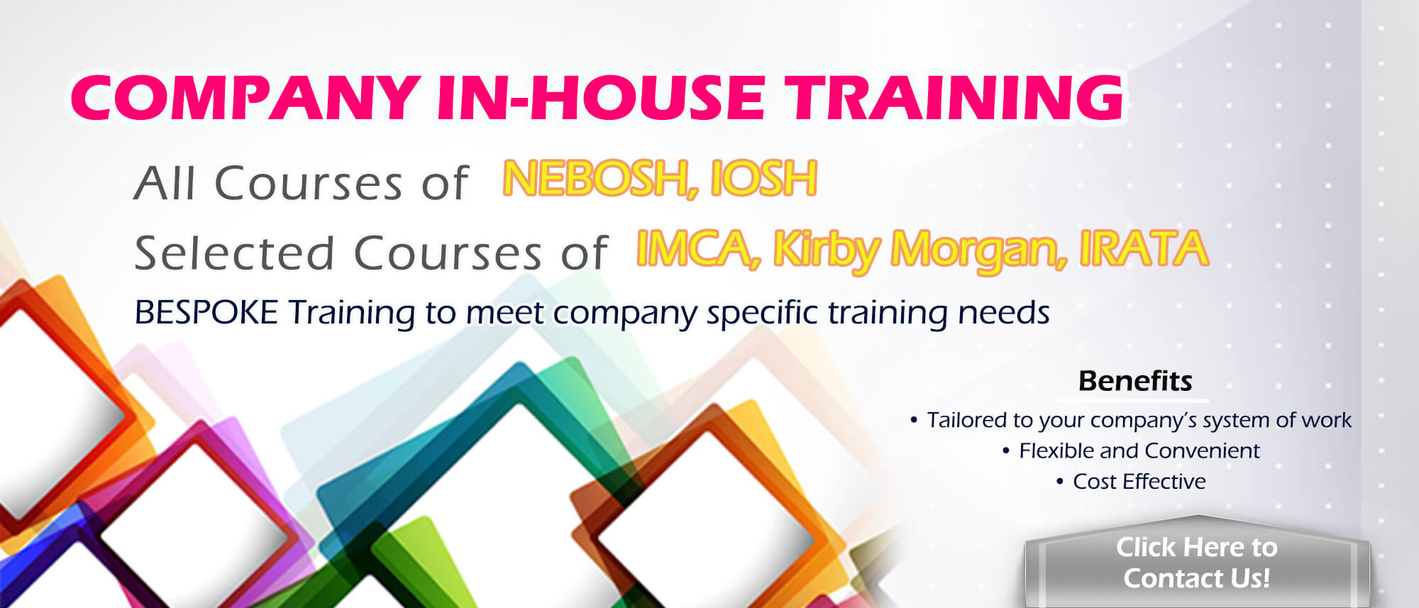 Enquiry for Company In House Training