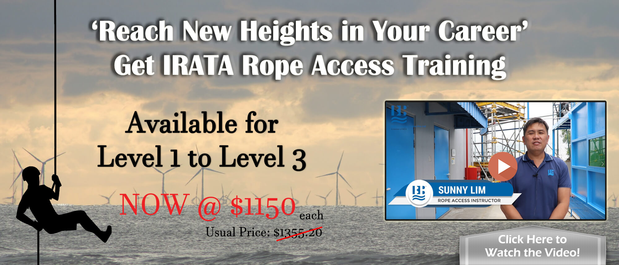 IRATA Rope Access - New Promotion 2019
