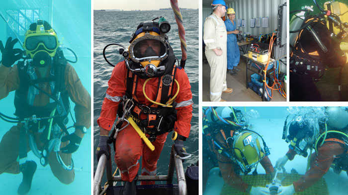 Inland/Inshore Commercial Diver Training (Level 1 and Level 2 - CSCUBA Diver and SSDE Diver)